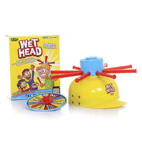 Водная рулетка Wet Head со шлемомИгрушки из рекламы<br>Водная рулетка Wet Head со шлемом<br>