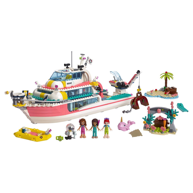 Конструктор Lego®  Подружки - Катер для спасательных операций