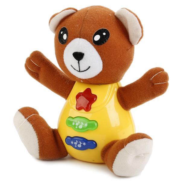 Купить Обучающая игрушка – Медведь, свет и звук, 20 потешек, Умка