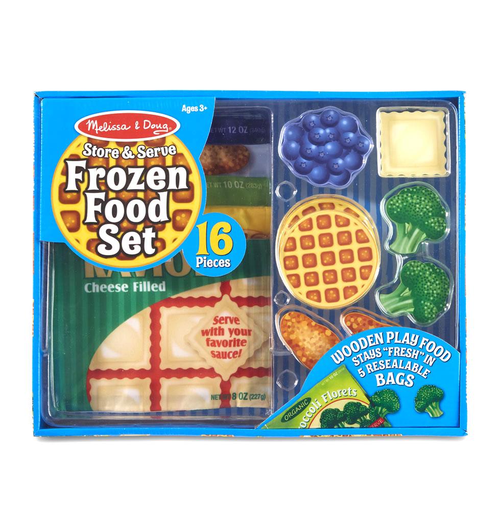 Готовь и играй - Набор замороженной едыДетская игрушка Касса. Магазин. Супермаркет<br>Готовь и играй - Набор замороженной еды<br>