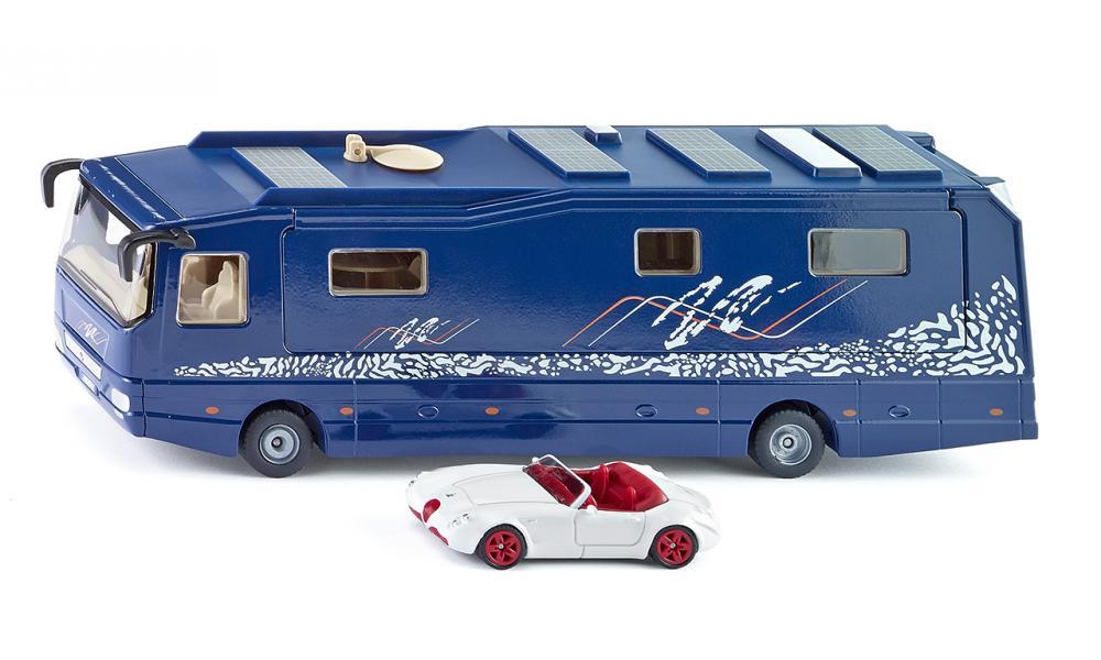 Купить Модель дома на колесах с гаражом, Siku