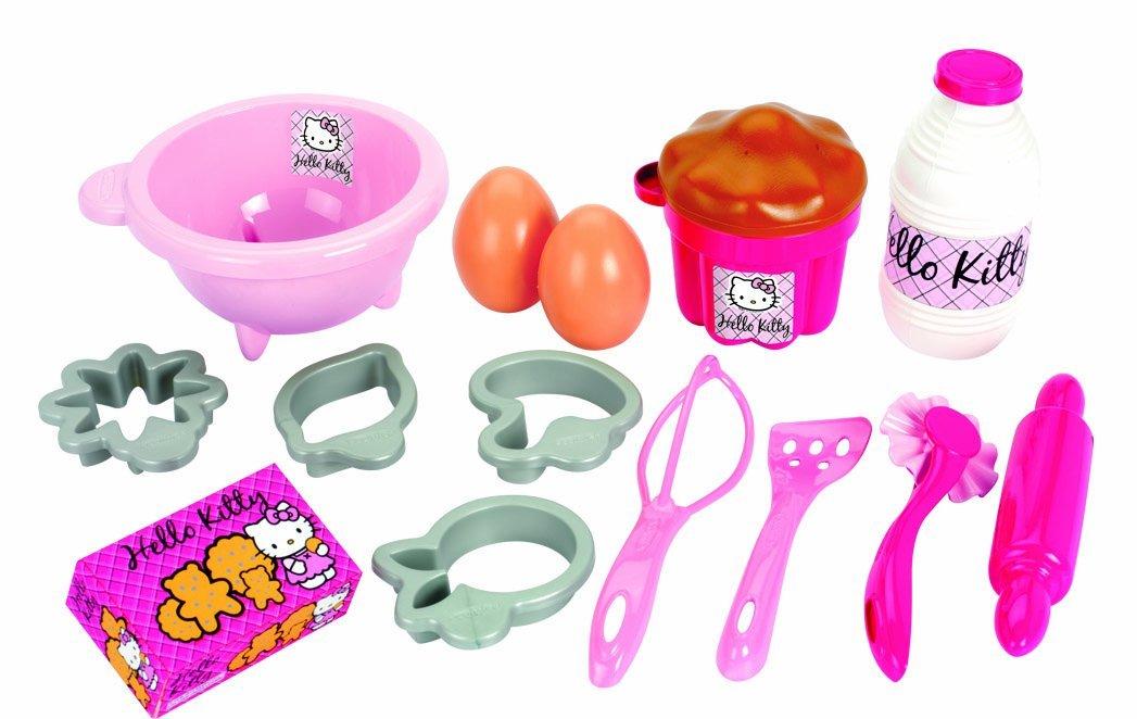 Набор посудки с продуктами из серии Hello Kitty, 17 предметовАксессуары и техника для детской кухни<br>Набор посудки с продуктами из серии Hello Kitty, 17 предметов<br>
