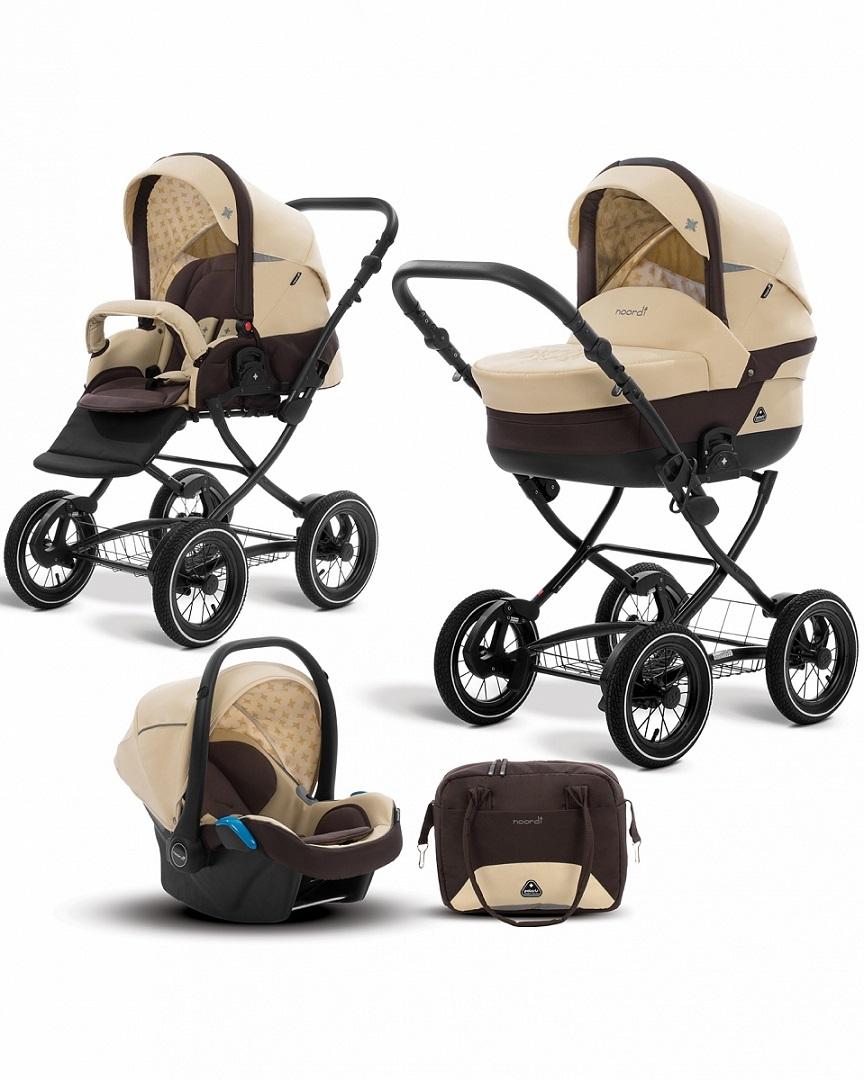 Коляска детская Noordi Polaris CL 3 в 1 с автокресломДетские коляски 3 в 1<br>Коляска детская Noordi Polaris CL 3 в 1 с автокреслом<br>