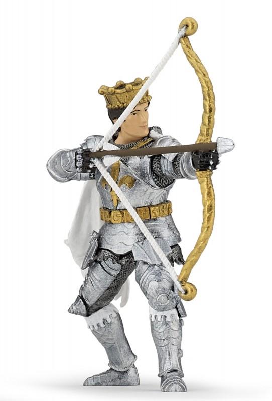 Игровая фигурка - рыцарь Принц с луком и стреламиФигурки Papo<br>Игровая фигурка - рыцарь Принц с луком и стрелами<br>