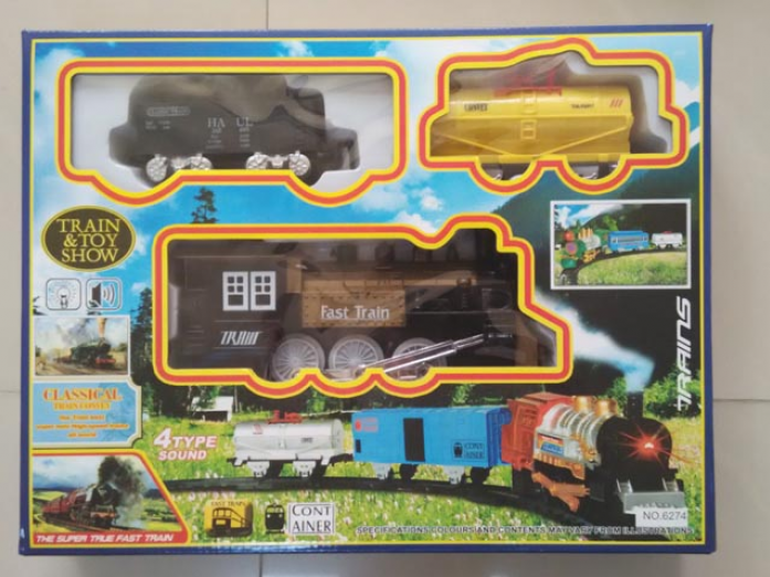 Железная дорога Train And Toy ShowДетская железная дорога<br>Железная дорога Train And Toy Show<br>