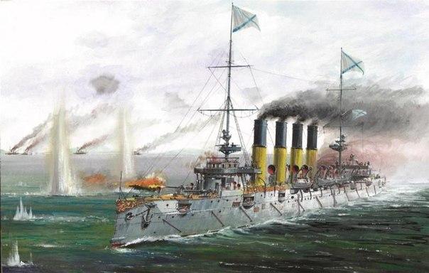 Модель для склеивания - Крейсер ВарягМодели кораблей для склеивания<br>Модель для склеивания - Крейсер Варяг<br>