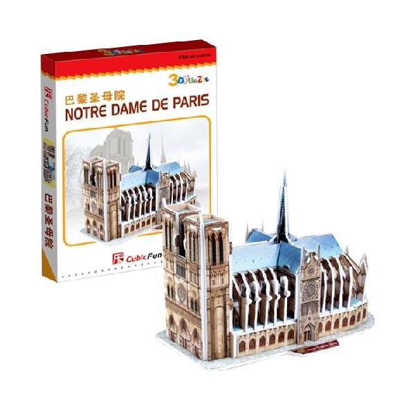 Купить со скидкой 3D puzzles. Пазлы объёмные. Нотрдам де Пари