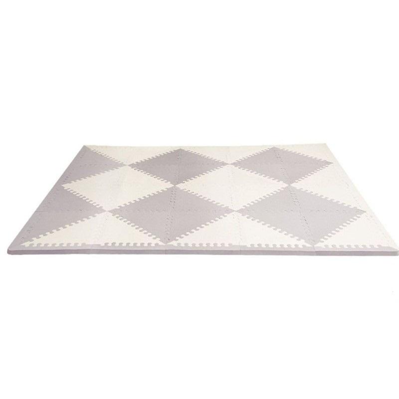 Напольный коврик, серый/кремовыйКоврики-пазлы<br>Напольный коврик, серый/кремовый<br>