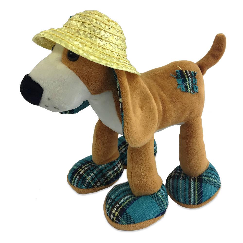 Купить Собака в соломенной шляпе, 23 см, Teddy