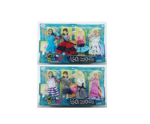 Набор одежды и аксессуаров для куклы высотой 29 см, 2 видаОдежда для кукол<br>Набор одежды и аксессуаров для куклы высотой 29 см, 2 вида<br>