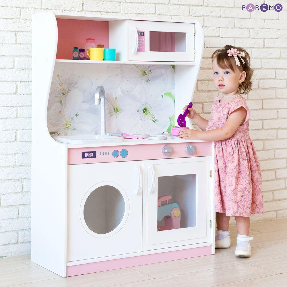 Купить Игрушечная мини-кухня - Фиори Бьянка, Paremo