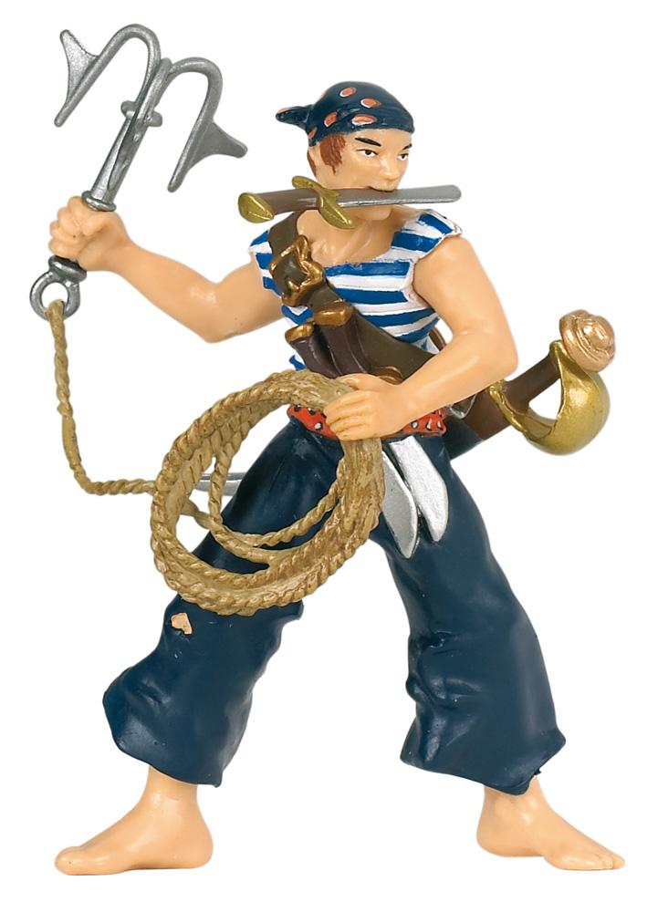 Фигурка Пират с абордажным крюкомФигурки Papo<br>Фигурка Пират с абордажным крюком<br>