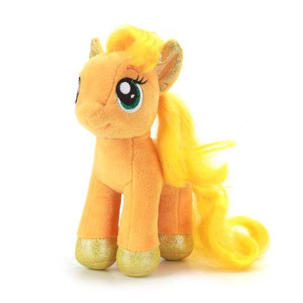 Мягкая игрушка – пони Эпплджек из мультфильма Моя маленькая пони, озвученная, 18 см.Моя маленькая пони (My Little Pony)<br>Мягкая игрушка – пони Эпплджек из мультфильма Моя маленькая пони, озвученная, 18 см.<br>