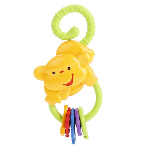 Погремушка - ОбезьянкаДетские погремушки и подвесные игрушки на кроватку<br>Погремушка - Обезьянка<br>
