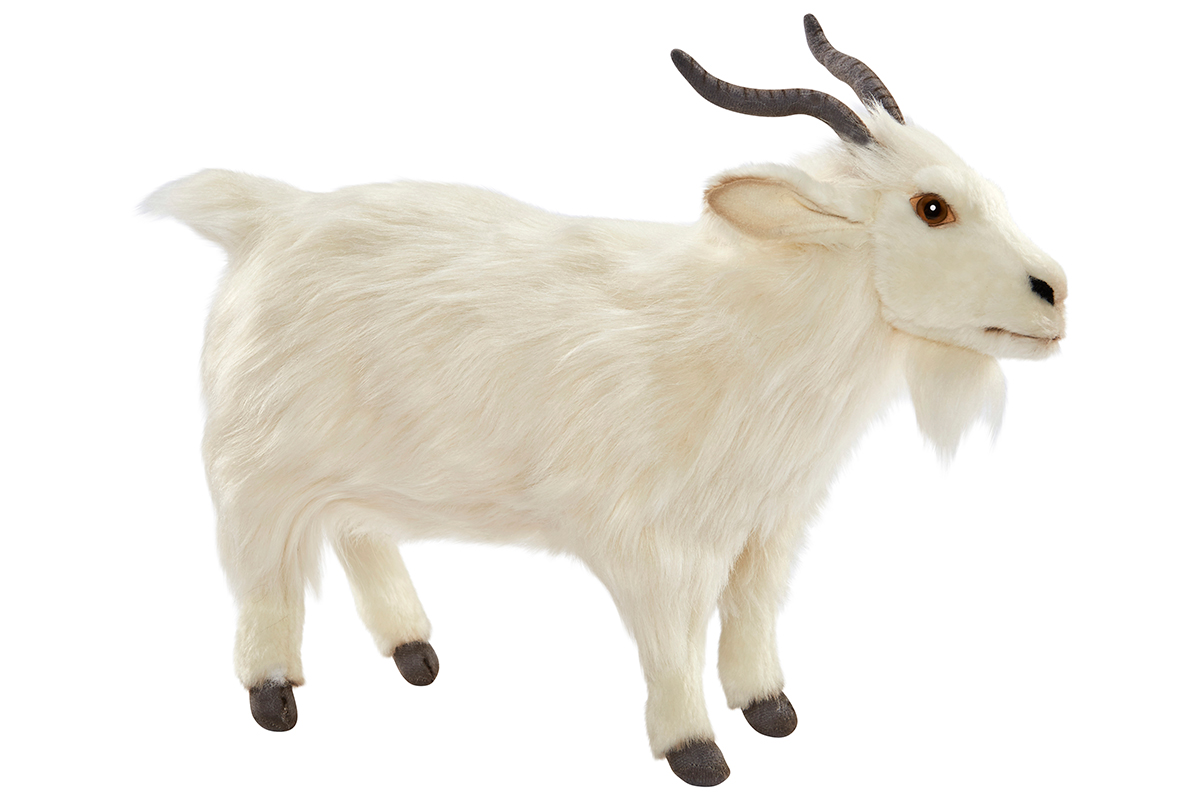 Мягкая игрушка – Турецкая коза, 30 см.Животные<br>Мягкая игрушка – Турецкая коза, 30 см.<br>