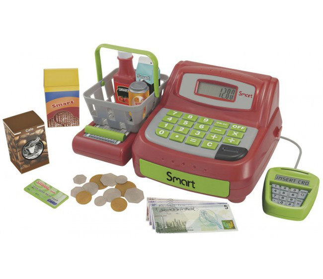 Кассовый аппаратДетская игрушка Касса. Магазин. Супермаркет<br>Кассовый аппарат<br>