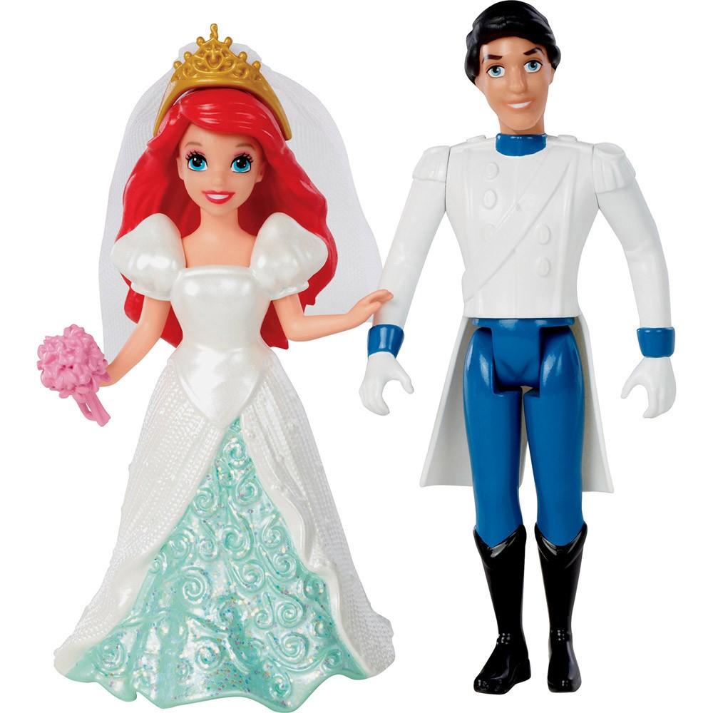 Набор мини-кукол - Сказочная свадьба - Ариэль и Принц ЭрикАриэль<br>Набор мини-кукол - Сказочная свадьба - Ариэль и Принц Эрик<br>