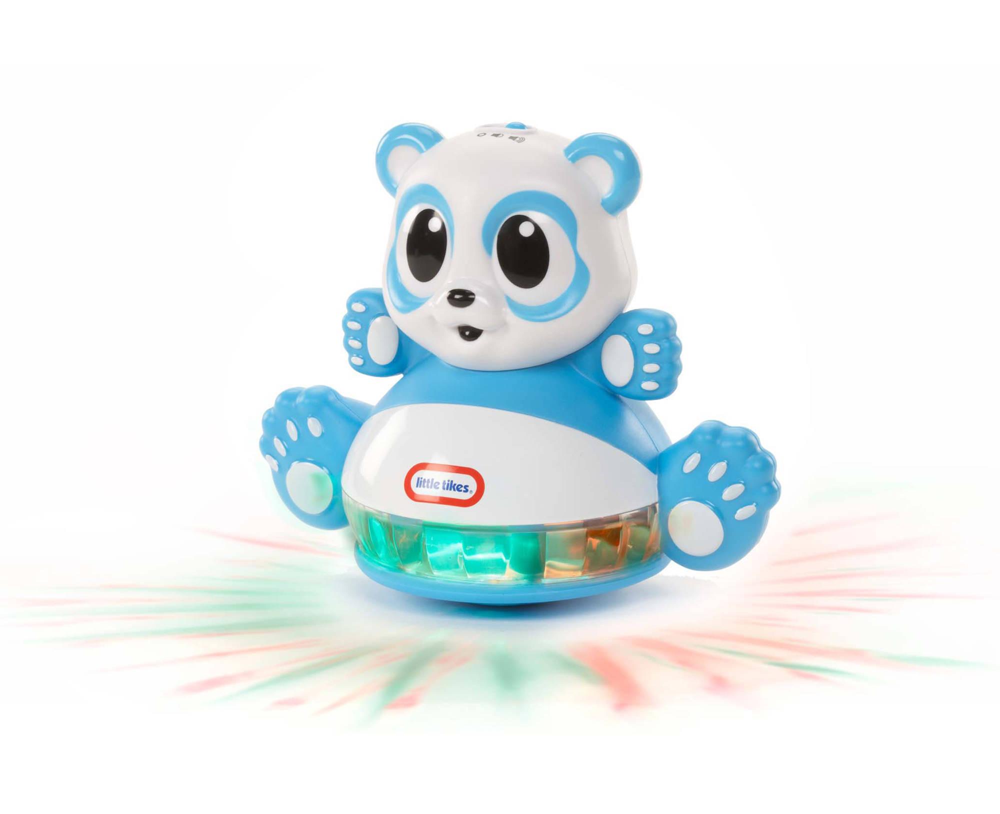 Игрушка развивающая Панда-неваляшка со световыми эффектамиРазвивающие игрушки Little Tikes<br>Игрушка развивающая Панда-неваляшка со световыми эффектами<br>