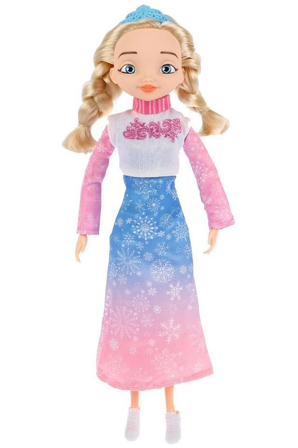Купить Кукла из серии Царевны - Аленка, 29 см, сгибаются руки и ноги, с 4 аксессуарами, Карапуз