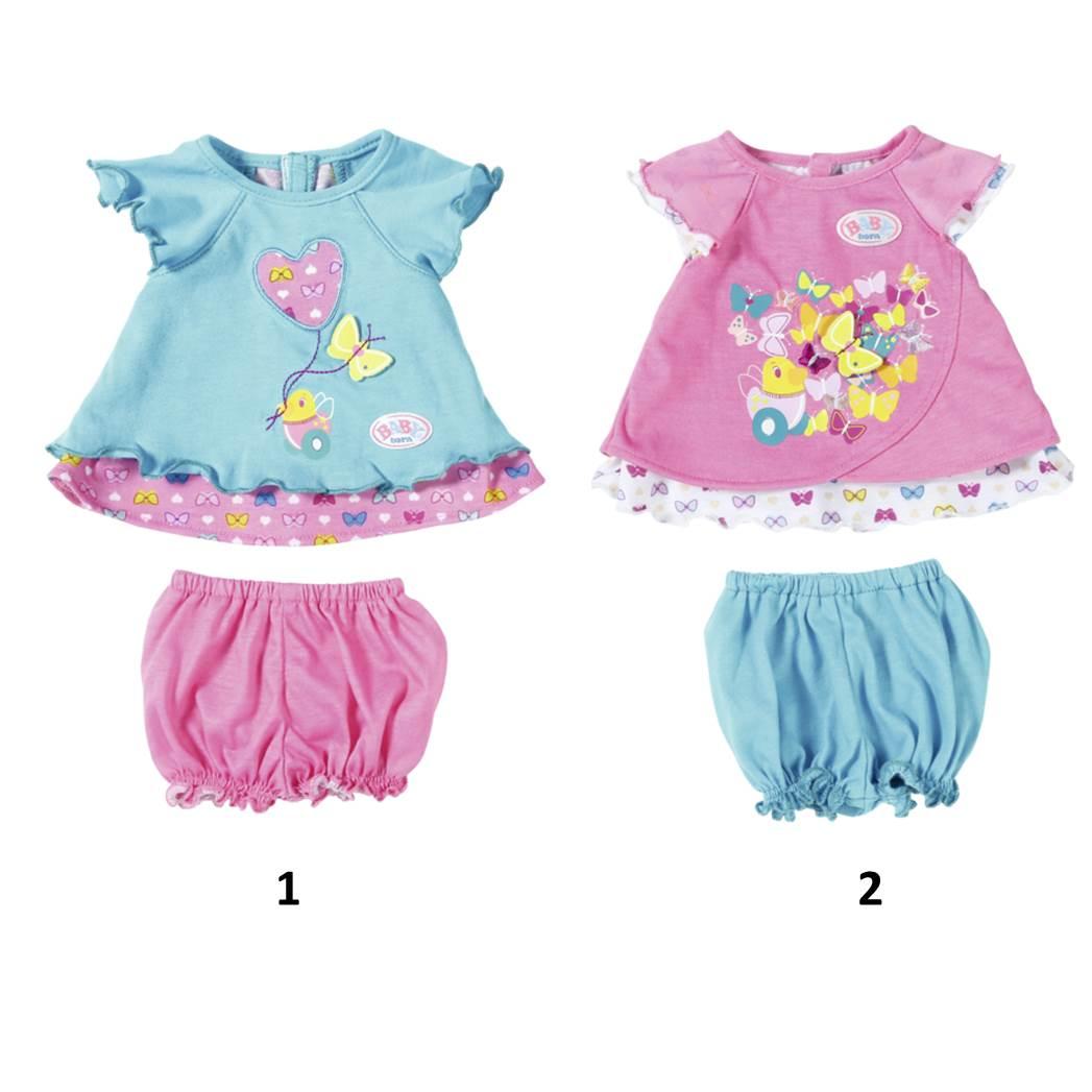 Одежда для кукол Baby born - Туника с шортикамиОдежда Baby Born <br>Одежда для кукол Baby born - Туника с шортиками<br>