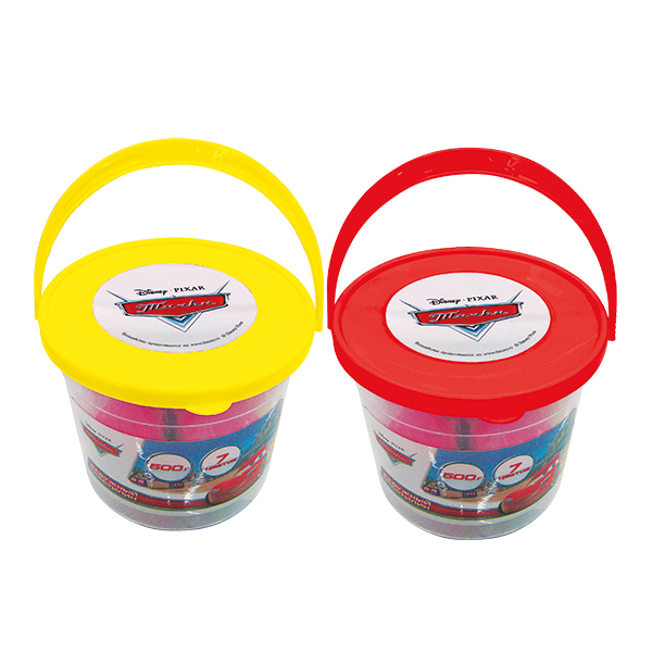 Пластилин - Disney Тачки, 7 цветов, 500 гНаборы для лепки<br>Пластилин - Disney Тачки, 7 цветов, 500 г<br>