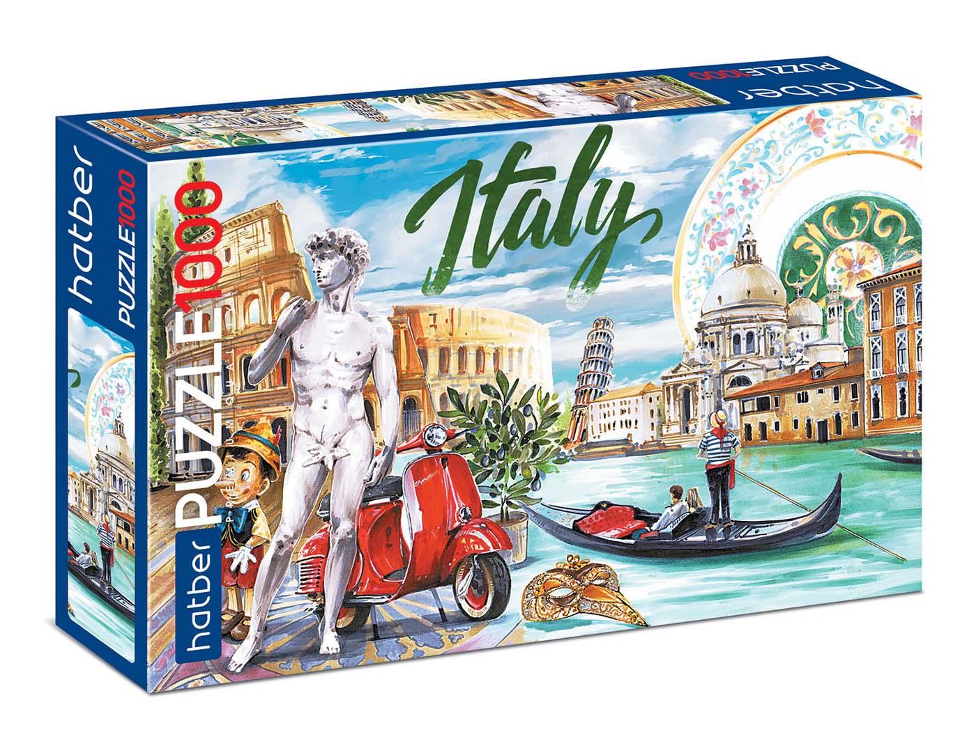 Пазл Premium 1000 элементов – Вокруг света Италия фото