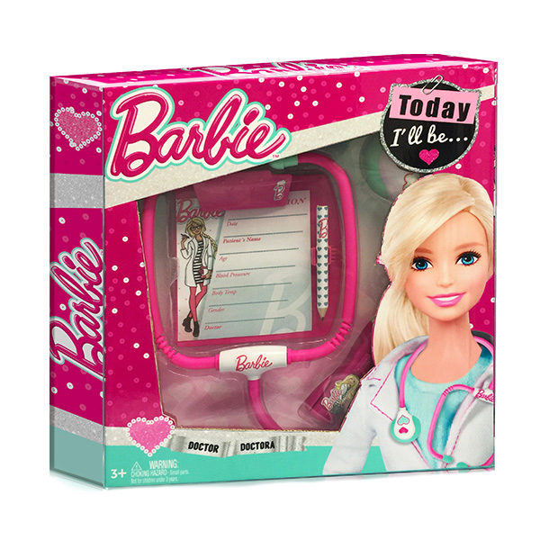 Игровой набор юного доктора из серии Barbie с планшетом, компактный