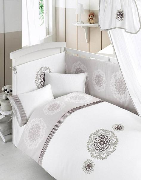 Комплект постельного белья из 3 предметов серия RoyalДетское постельное белье<br>Комплект постельного белья из 3 предметов серия Royal<br>