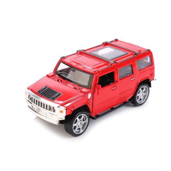 Металлическая инерционная машина Hummer H3, 13 см, со световыми эффектамиHummer<br>Металлическая инерционная машина Hummer H3, 13 см, со световыми эффектами<br>