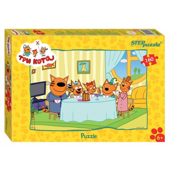 Пазл – Три кота Step Puzzle