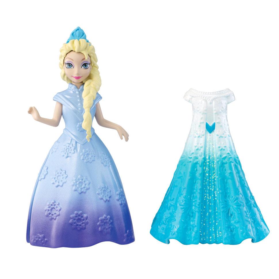 Кукла Эльза из королевства Эренделл с дополнительным платьем, 10 смКуклы холодное сердце<br>Кукла Эльза из королевства Эренделл с дополнительным платьем, 10 см<br>