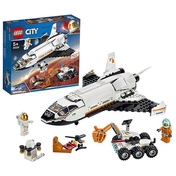 Конструктор Lego City - Шаттл для исследований Марса