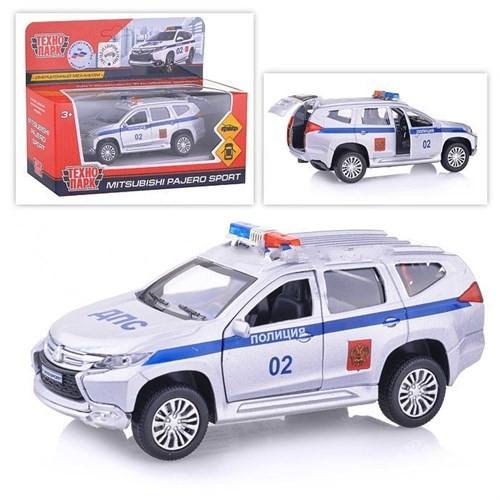 Купить Машина металлическая инерционная Mitsubishi Pajero Sport Полиция 12 см., Технопарк