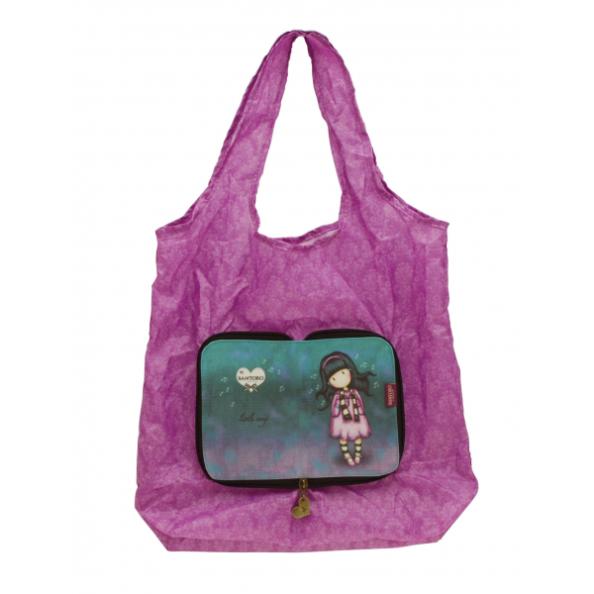 Складывающаяся сумка для покупок - Little SongGorjuss Santoro London<br>Складывающаяся сумка для покупок - Little Song<br>