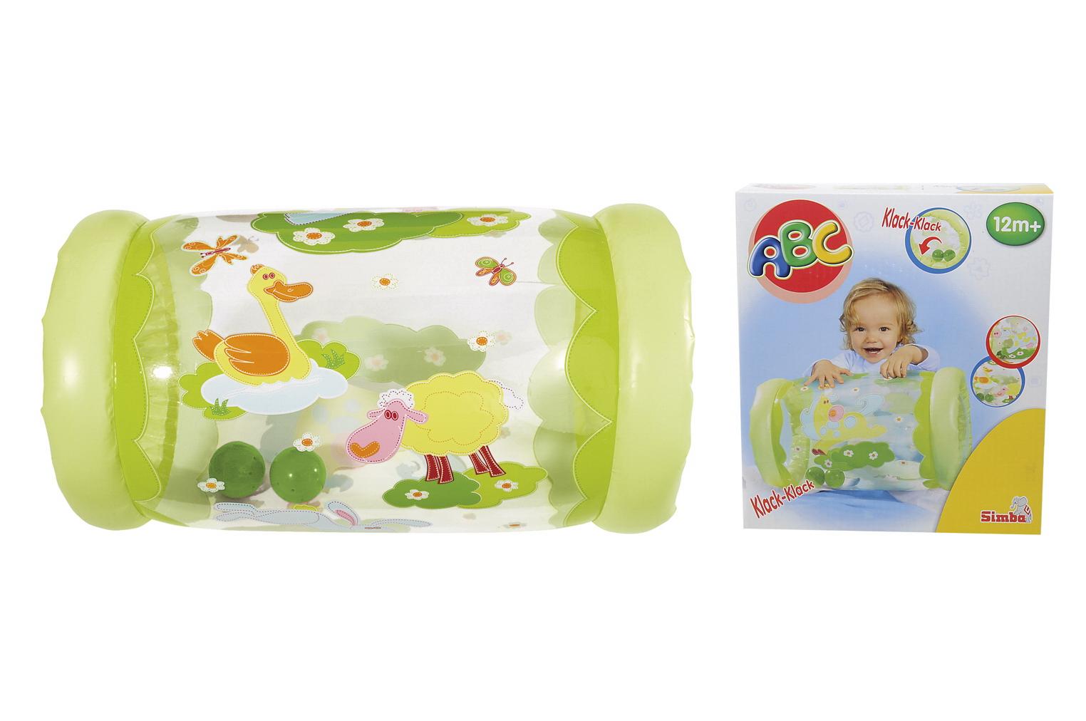 Надувной ролл, 42 х 23 смРазвивающие игрушки Simba Baby<br>Надувной ролл, 42 х 23 см<br>