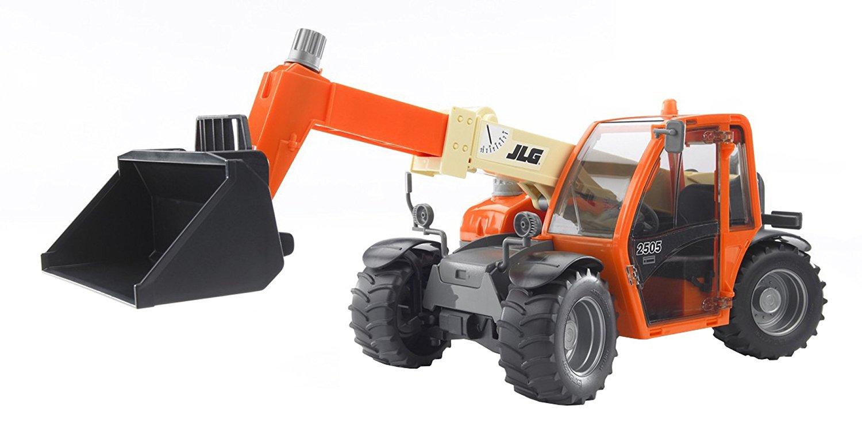 Купить Погрузчик колёсный Bruder JLG 2505 Telehandler с телескопическим ковшом