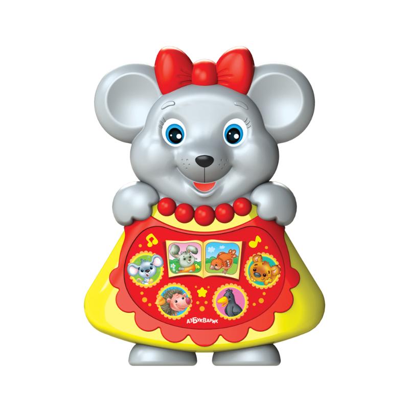 Купить Игрушка музыкальная из серии Любимая сказочка - Мышка-норушка, Азбукварик