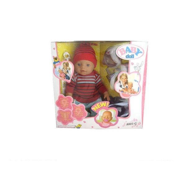 Купить Пупс Baby Dolls, 43 см, с аксессуарами, пьет и писает, закрывает глаза