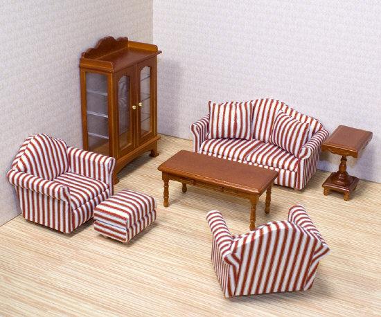 Мебель - Гостиная для Викторианского домаКукольные домики<br>Мебель - Гостиная для Викторианского дома<br>