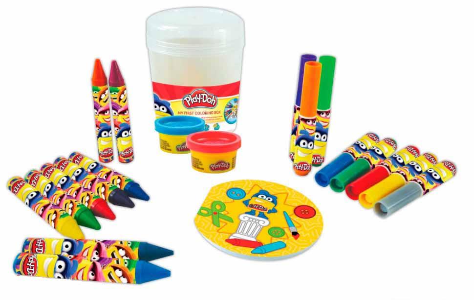 Набор Play doh - Первая раскраскаПластилин Play-Doh<br>Набор Play doh - Первая раскраска<br>