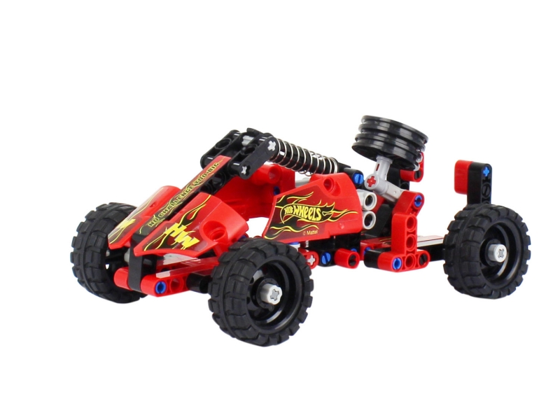 Конструктор Hot Wheels - Formula, 127 деталей