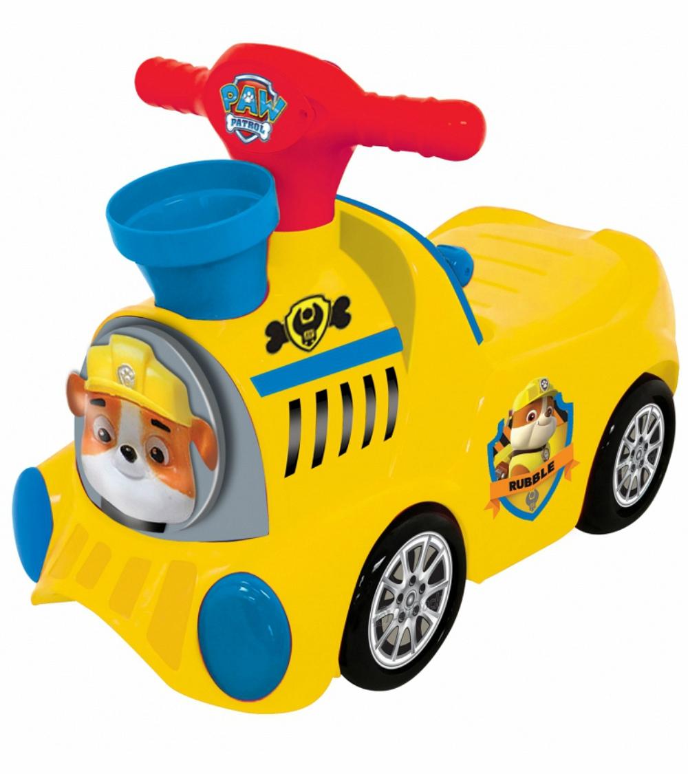 Каталка - пушкар паровоз - Щенячий патруль, с шарамиМашинки-каталки для детей<br>Каталка - пушкар паровоз - Щенячий патруль, с шарами<br>