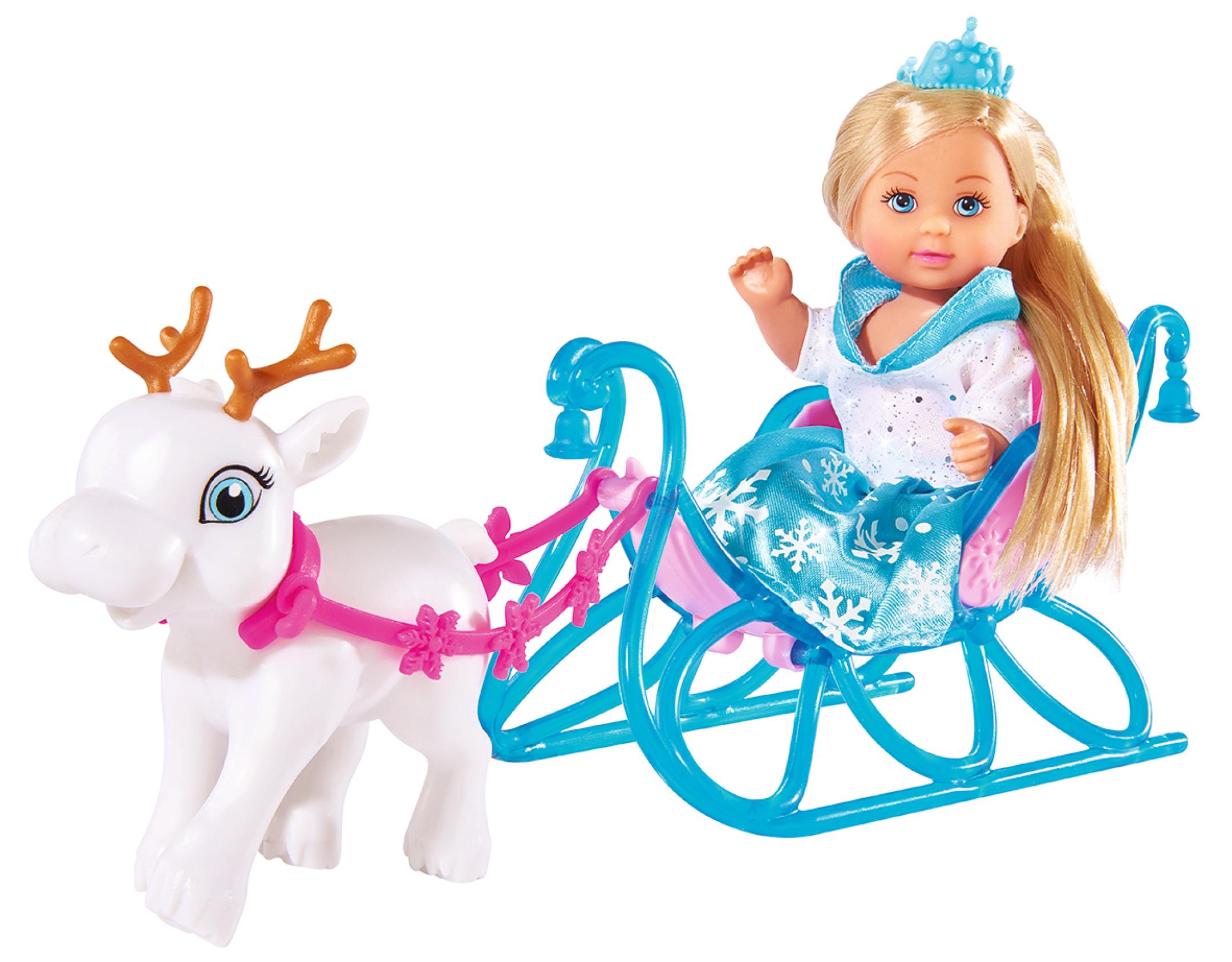 Купить Кукла Еви на санях, 12 см., Simba