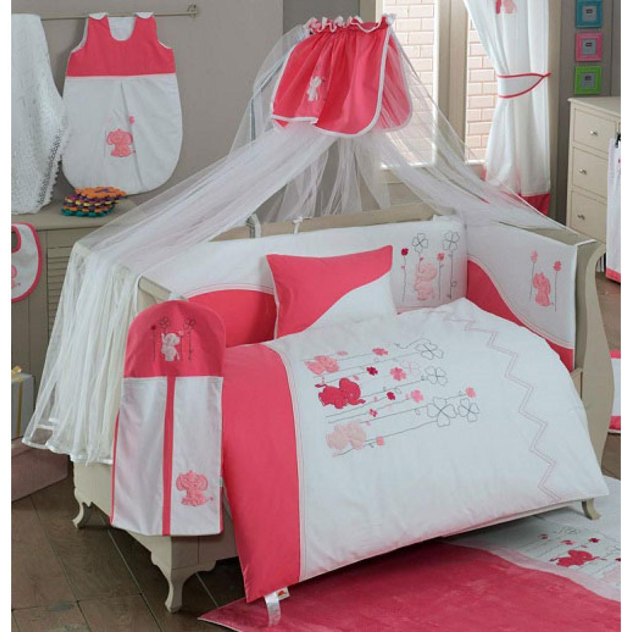 Балдахин серии Elephant 150 х 450 см, PinkДетское постельное белье<br>Балдахин серии Elephant 150 х 450 см, Pink<br>