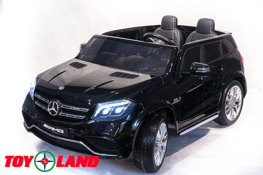 Электромобиль Mercedes-Benz GLS63 AMG, черного цветаЭлектромобили, детские машины на аккумуляторе<br>Электромобиль Mercedes-Benz GLS63 AMG, черного цвета<br>