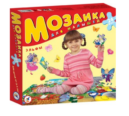 Мозаика для малышей – ЭльфыПазлы для малышей<br>Мозаика для малышей – Эльфы<br>