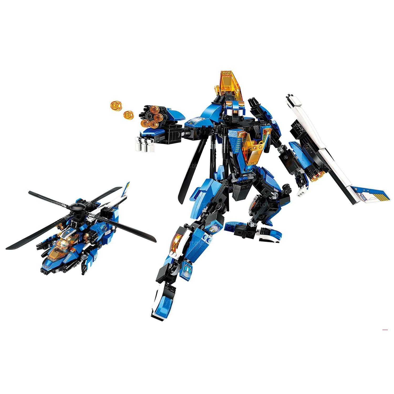 Конструктор – Робот-вертолет, 448 деталей ) по цене 2 664