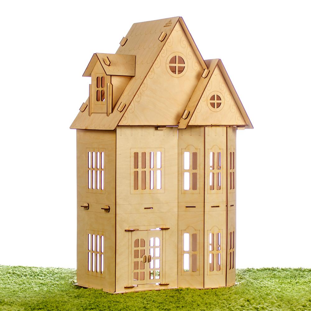 Купить Сборная модель - Кукольный домик лайт, Теремок