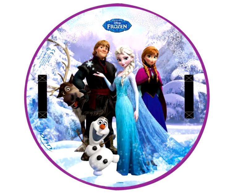 Ледянка круглая Disney  Холодное сердце ?63 см - Зимние товары, артикул: 148528