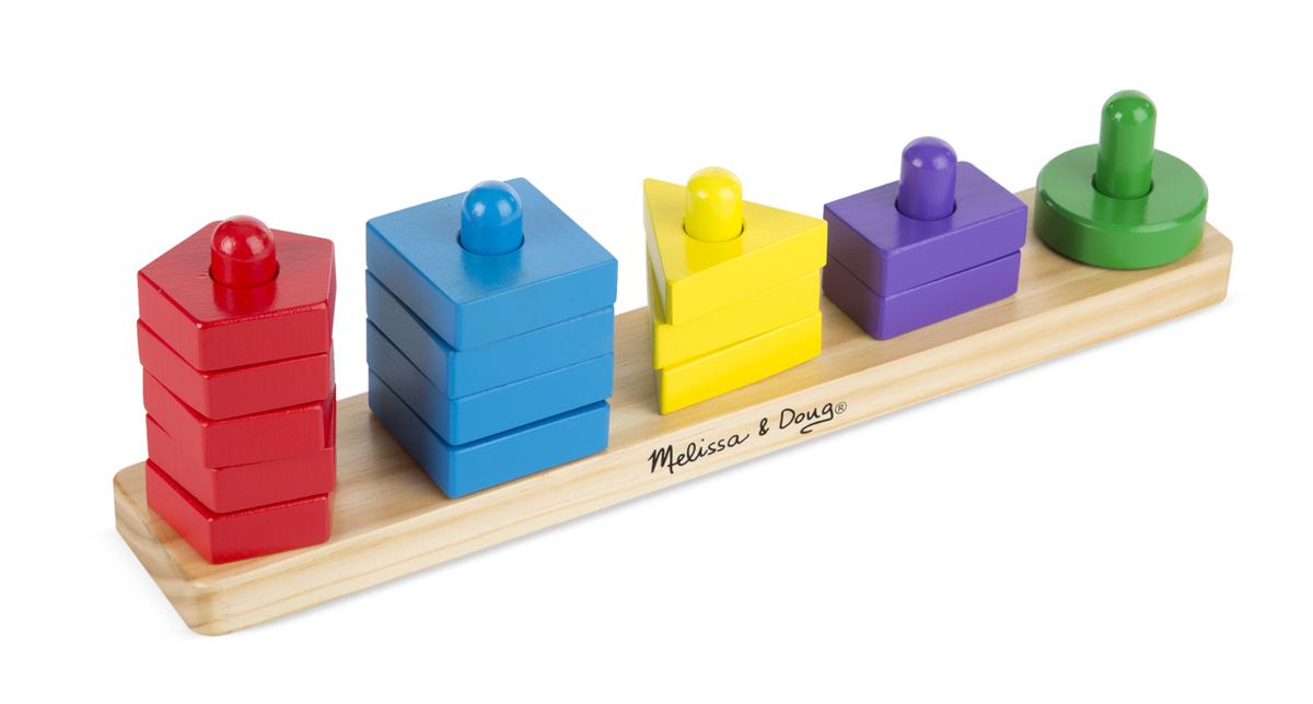 Пирамидки на доске из серии Классические игрушкиСортеры, пирамидки<br>Пирамидки на доске из серии Классические игрушки<br>